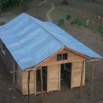 maison reconstruite