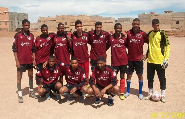 abdel (president de l'association alwaha) et son équipe