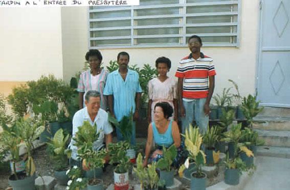 l'equipe enseignante à Bizoton