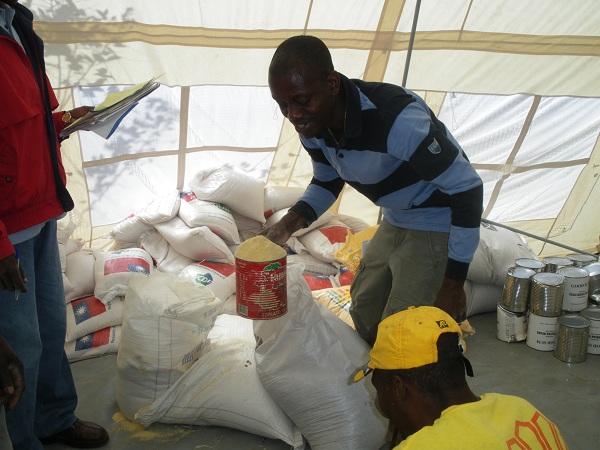 Emmanuel sur place en Haiti