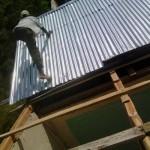 reparation du toit 1ere classe